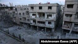 «کمیته امدارسانی بینالمللی» میگوید رخدادها در غوطه شرقی بسیار شبیه آنچیزیست که در جریان سقوط حلب و کنترل آن توسط نیروهای دولتی، بهوقوع پیوست