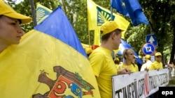 Кишиневдогу оппозициялык жүрүштөн көрүнүш, 27-июл, 2009-жыл