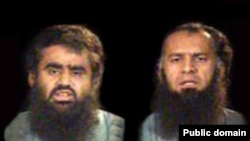 سایت «سنی آنلاین» می گوید این عکس دو روحانی اهل سنت: عبدالقدوس ملازهی و محمد يوسف سهرابی است
