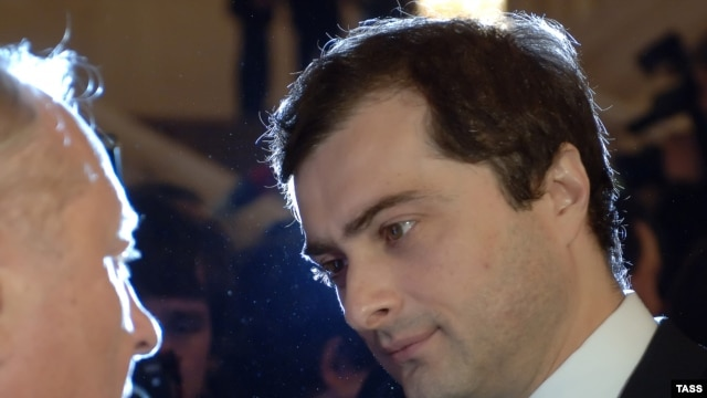 Vladislav Surkov's flurry of activity by the Kremlin's top ideologue is fueling much speculation.