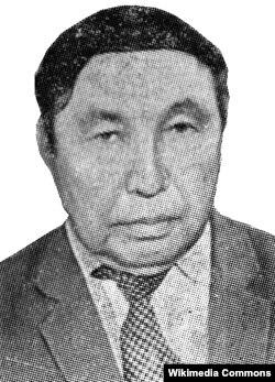 Кыргыз эл жазуучусу Шабданбай Абдыраманов (1930—1998).