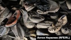 Лагерь смерти: как выглядит зимний Освенцим (фотогалерея)