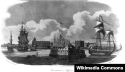 Фрэнсис Гибсон. Кронштадт. 1807