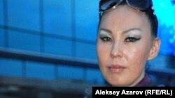 Певица Чылтыс Таннагашева из Горной Шории в России. Алматы, 6 июня 2015 года.