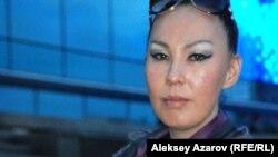Ресейдің Таулы Шория аймағынан келген әнші Чылтыс Таннагашева. Алматы, 6 маусым 2015 жыл.