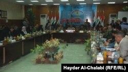 جلسة لمجلس محافظة بابل