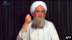 Al-Qaeda leader Ayman al-Zawahiri (file photo)