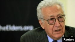 Veteran diplomat Lakhdar Brahimi (pictured) took up the UN envoy post after the departure of Kofi Annan, whose peace initiatives never gained sufficient support on the Security Council.