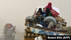 Сириски бегалци.