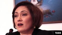 Эльзара Исмаилова, генеральный директор крымскотатарского телеканала АТР, снятого властями Крыма с эфира 1 апреля 2015 года