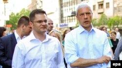 Zahtev za saslušanjem: Vuk Jeremić i Boris Tadić