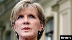 Ministrja e Jashtme e Australisë, Julie Bishop.