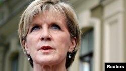 Министр иностранных дел Австралии Джулия Бишоп.