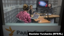 Александра Крыленкова в эфире «Дневного шоу» на Радио Крым.Реалии