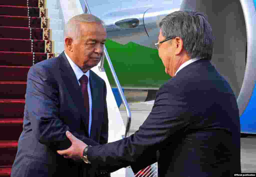 Президент Узбекистана Ислам Каримов. Последний раз в Бишкеке глава узбекского государства был в 2007 году
