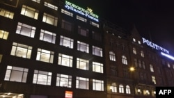 Зградата на весникот Јиландс-Постен во Копенхаген требало да биде мета на нападот.