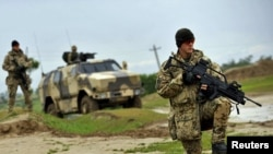 A1943-жылдын 19-апрелинде НКВДга караштуу «Смерш» контрчалгын башкармалыгы уюшулган.