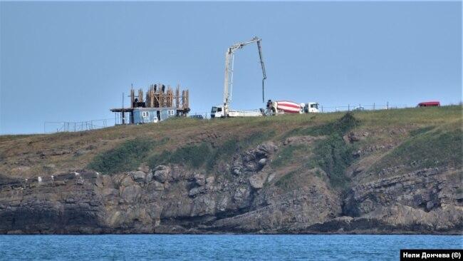 """Строежът в местността """"Поляните"""" на 8 юни 2020 г."""