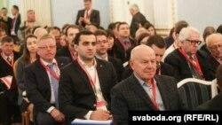 Георгій Грыц на Кастрычнікім эканамічным форуме