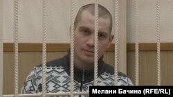 Вадим Тюменцев в зале суда