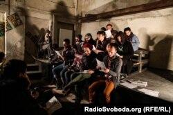 Читання п'єси «Веселкова трибуна» Павла Демірського на фестивалі «Драма.UA» (фото з Facebook)