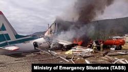 В Бурятии два человека погибли при аварийной посадке пассажирского самолета Ан-24