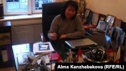 Директор туристической фирмы Amori tour Мухаббат Ахметова. Алматы, 20 марта 2014 года.
