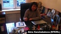 Amori tour туристік фирмасының директоры Махаббат Ахметова. Алматы, 20 наурыз 2014 жыл.