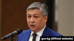 Министр иностранных дел Кыргызстана Эрлан Абдылдаев. Архивное фото.
