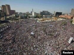 Эгіпецкая рэвалюцыя, Каір, плошча Тахрыр, 18 лютага 2011