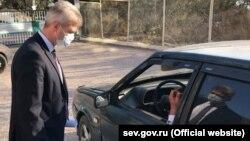 Проверка при въезде в Севастополь