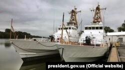 Американские катера получили названия «Славянск» и «Старобельск»