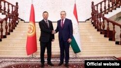 Встреча глав МИД Таджикистана и Кыргызстана, Душанбе, 19 ноября 2020 года. Фото с сайта МИД Таджикистана