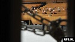 Važno je da se američka administracija što prije uključi u rješavanje problema u BiH: Miro Lazović (na fotografiji: Parlament Bosne i Hercegovine)