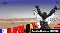 Azerbaýjan, terror karikaturasy