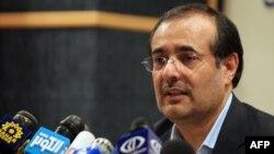 مهدی غضنفری، وزیر صنعت، معدن و تجارت ایران.