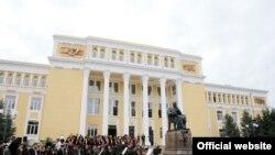 Təmirdən sonra Bakı Musiqi Akademiyası binasının açılışı olub, 18 sentyabr 2008