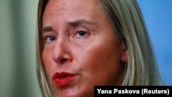 EU foreign policy chief Federica Mogherini