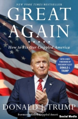 Donald Trumpın siyasi baxışlarını açıqladığı ən məşhur kitablarından biri.