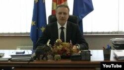 Новогодишно обраќање на лидерот на опозицискиот СДСМ Бранко Црвенковски во Скопје.