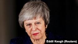 Kryeministrja britanike, Theresa May.