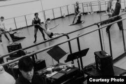 Репетиция нового балета Ратманского