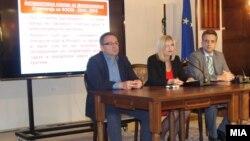 Прес-конференција по повод одбележување на Денот на ФЗОМ.