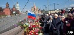 Москворецький міст, 7 квітня 2015 року