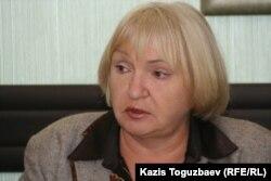 "Президент прессозащитной организации ""Адил соз"" Тамара Калеева. Алматы, 31 марта 2011 года."
