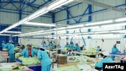 """Фабрика """"Лала-Текстиль"""" в Геранбое, 20 ноября 2009 года"""