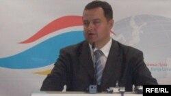 Ivica Dačić na šestom godišnjem okupljanju zvaničnika Jugoistočne Evrope u Banjaluci, 23. maj 2009. Foto: Maja Bjelajac