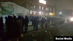 عکس منتشره در خصوص تجمع «نیروهای تندرو» در کرج
