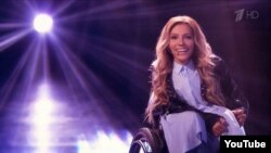 Russia's Eurovision pick, Yulia Samoilova, has been in a wheelchair since childhood. (file photo)