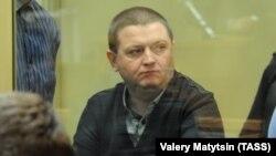 Вячеслав Цеповяз во время суда
